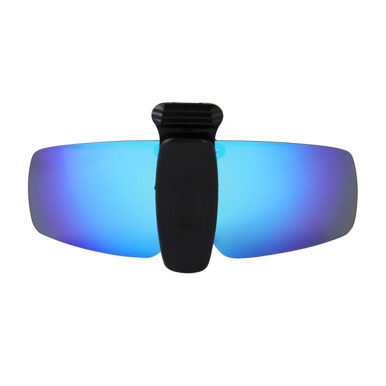 dfc90017100 HKUCO Sunglasses Clip Blue Green Polarized Lenses Hat Visors Clip-on  Sunglasses For Fishing Biking Hiking Golf UV400 Protect