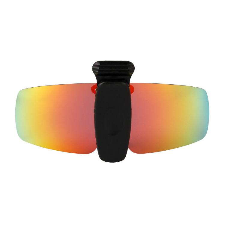 cb87c50ca3c HKUCO Sunglasses Clip Red Purple Polarized Lenses Hat Visors Clip-on  Sunglasses For Fishing Biking Hiking Golf UV400 Protect
