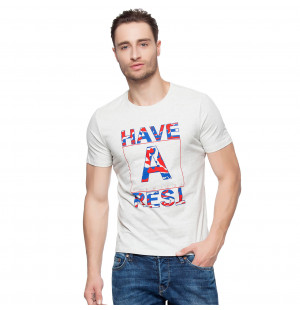 Hkuco Diswizzy Men's T-Shirt Superman Deformation Font Pattern