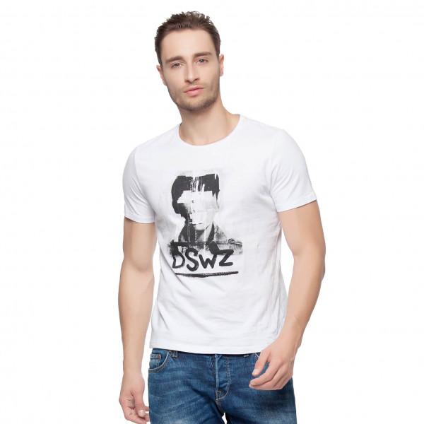 Hkuco Diswizzy Men's T-Shirt Handsome Boy Pattern