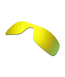 Hkuco Mens Replacement Lenses For Oakley Antix Sunglasses 24K Gold Polarized