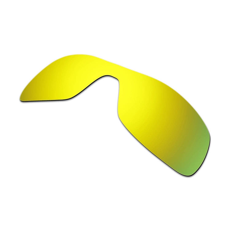 9871b2ce1ba Hkuco Mens Replacement Lenses For Oakley Antix Sunglasses 24K Gold Polarized
