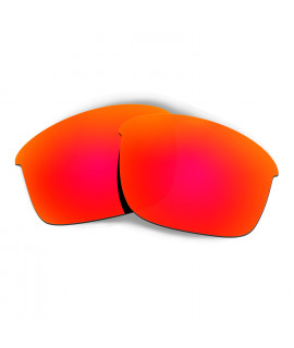 HKUCO Red Polarized Replacement Lenses for Oakley Bottle Rocket Sunglasses