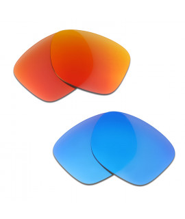 HKUCO Red+Blue Polarized Replacement Lenses for Oakley Catalyst Sunglasses