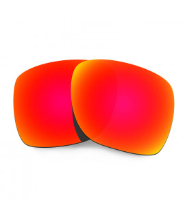 HKUCO Red Polarized Replacement Lenses for Oakley Deviation Sunglasses