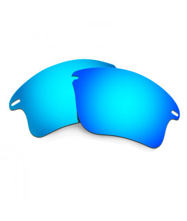 HKUCO Blue Polarized Replacement Lenses for Oakley Fast Jacket XL Sunglasses