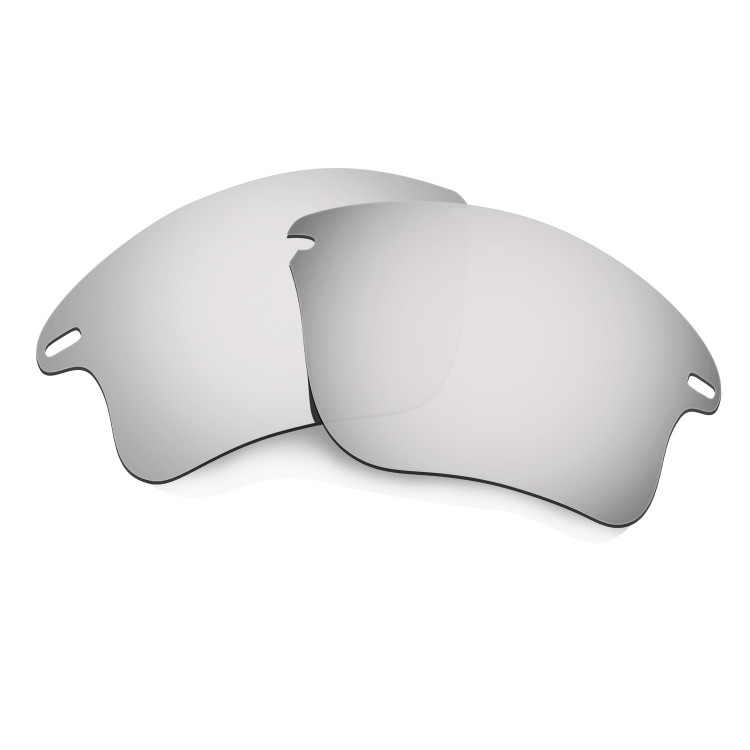 8d4405f6f3 HKUCO Titanium Mirror Polarized Replacement Lenses for Oakley Fast Jacket  XL Sunglasses