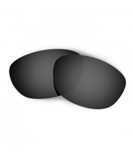 HKUCO Black Polarized Replacement Lenses for Oakley Fives 2.0 Sunglasses
