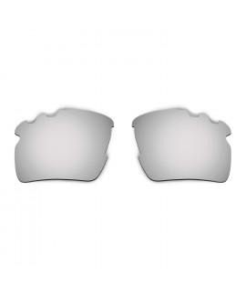 HKUCO Titanium Mirror Polarized Replacement Lenses For Oakley Flak 2.0 XL-Vented Sunglasses