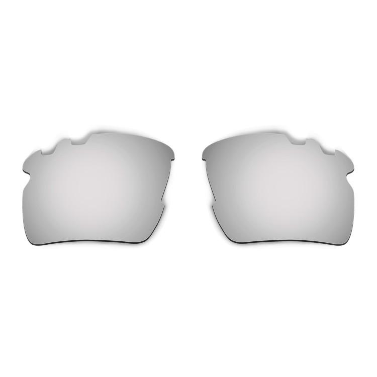 HKUCO Mens Replacement Lenses For Oakley Flak 2.0 Vented Black/Titanium Sunglasses lYdcDfeGS