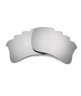 HKUCO Titanium  Polarized Replacement Lenses for Oakley Flak Jacket XLJ-Vented Sunglasses
