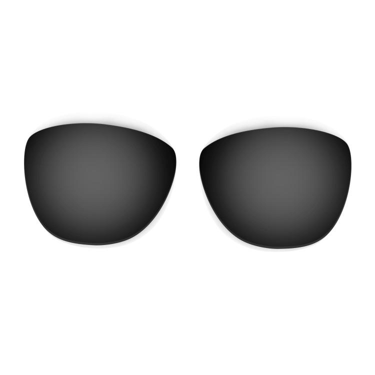 b4e30e6298d HKUCO Red+Black+Titanium Mirror Polarized Replacement Lenses For Oakley  Frogskins Sunglasses