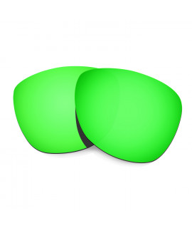 HKUCO Emerald Green Mirror Polarized Replacement Lenses For Oakley Frogskins Sunglasses