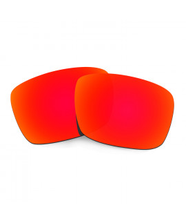 HKUCO Red Polarized Replacement Lenses For Oakley Fuel Cell Sunglasses