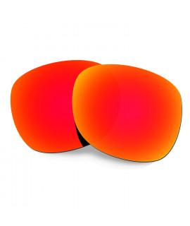 HKUCO Red Polarized Replacement Lenses For Oakley Garage Rock Sunglasses