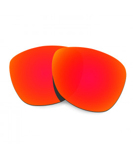 Hkuco Mens Replacement Lenses For Oakley Frogskins (Asia Fit) Sunglasses Red Polarized