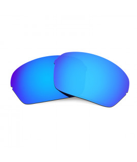 Hkuco Mens Replacement Lenses For Oakley Half X Sunglasses Blue Polarized