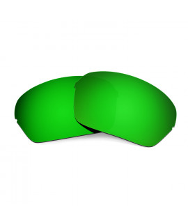 Hkuco Mens Replacement Lenses For Oakley Half X Sunglasses Emerald Green Polarized