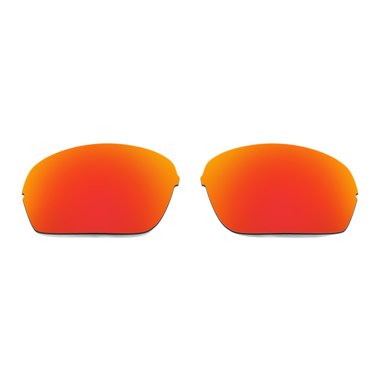 741371ffd24 Hkuco Mens Replacement Lenses For Oakley Half X Red Black Sunglasses