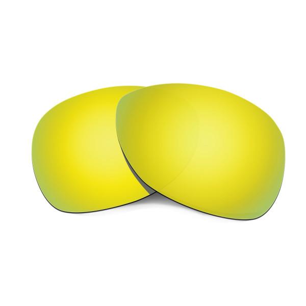 Hkuco Mens Replacement Lenses For Oakley Crosshair (2012) Sunglasses 24K Gold Polarized