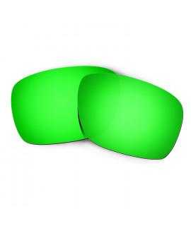 Hkuco Mens Replacement Lenses For Oakley Turbine Sunglasses Emerald Green Polarized