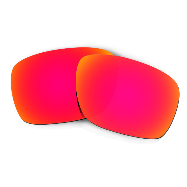 Hkuco Mens Replacement Lenses For Oakley Turbine Sunglasses Red Polarized