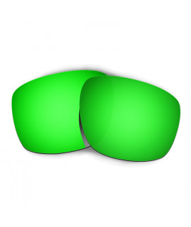 Hkuco Mens Replacement Lenses For Oakley Sliver Sunglasses Emerald Green Polarized