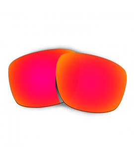Hkuco Mens Replacement Lenses For Oakley Sliver Sunglasses Red Polarized
