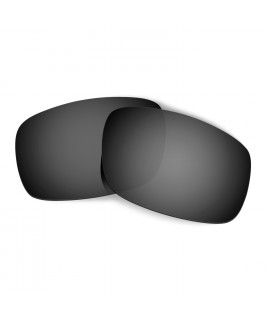 Hkuco Mens Replacement Lenses For Oakley Crankshaft Sunglasses Black Polarized