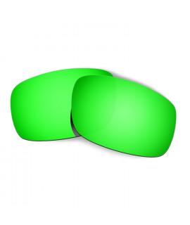Hkuco Mens Replacement Lenses For Oakley Crankshaft Sunglasses Emerald Green Polarized