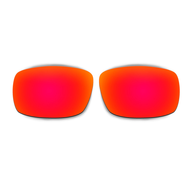HKUCO Mens Replacement Lenses For Oakley Crankshaft Red/Blue/Black/Emerald Green Sunglasses BWHDuP4UL