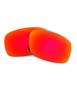 Hkuco Mens Replacement Lenses For Oakley Crankshaft Sunglasses Red Polarized