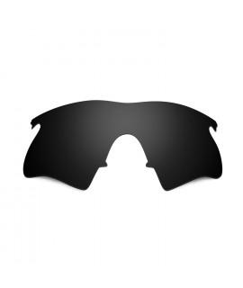 Hkuco Mens Replacement Lenses For Oakley M Frame Heater Sunglasses Black Polarized