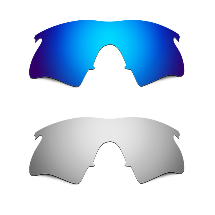 Hkuco Mens Replacement Lenses For Oakley M Frame Heater Blue ...