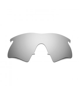 Hkuco Mens Replacement Lenses For Oakley M Frame Heater Sunglasses Titanium Mirror Polarized