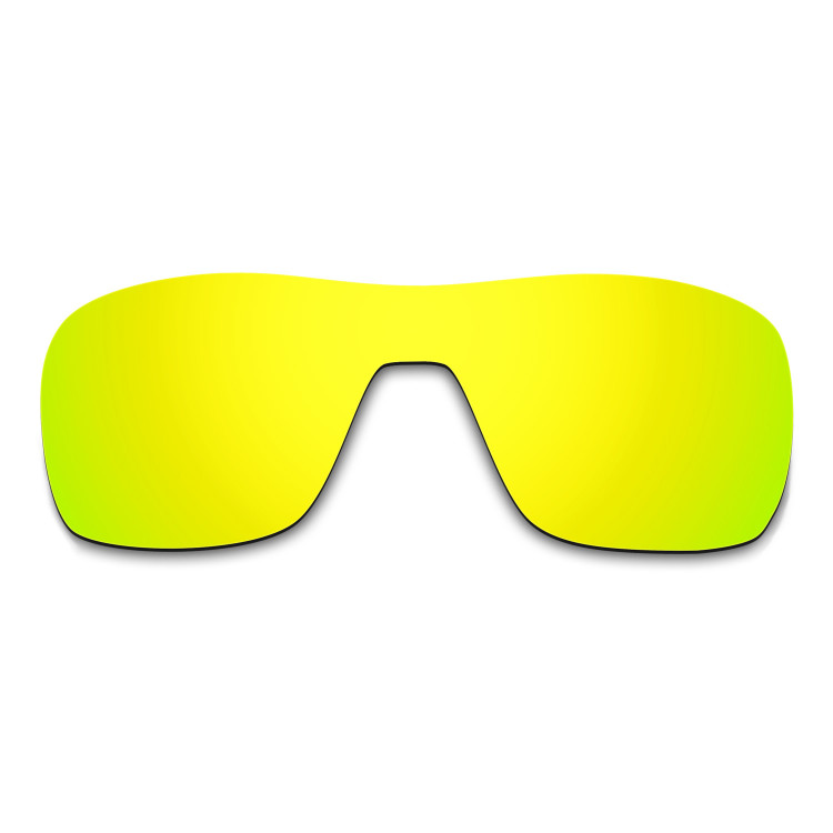 d72288d217 Hkuco Mens Replacement Lenses For Oakley Turbine Rotor Sunglasses 24K Gold  Polarized