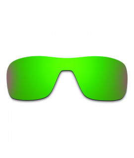 Hkuco Mens Replacement Lenses For Oakley Turbine Rotor Sunglasses Emerald Green Polarized