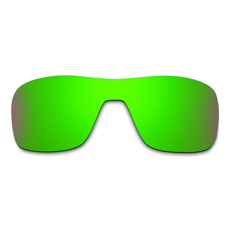HKUCO Mens Replacement Lenses For Oakley X Squared Sunglasses Emerald Green Polarized a6McPM