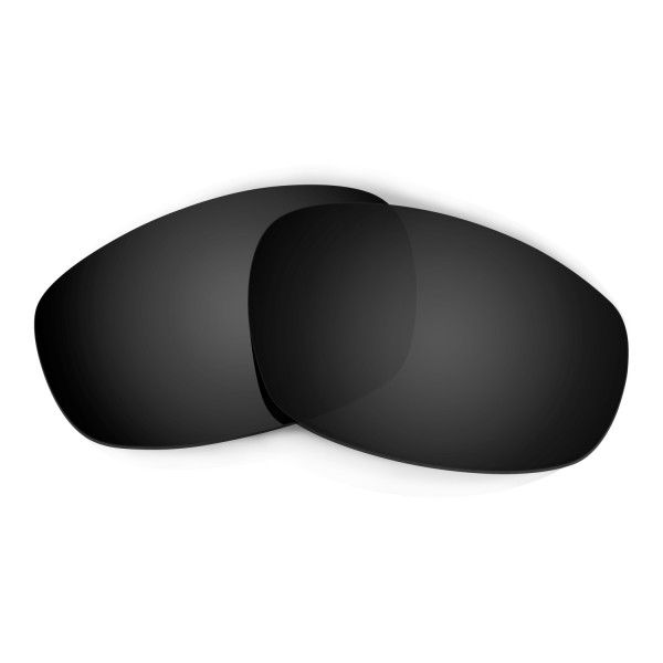Hkuco Mens Replacement Lenses For Oakley Wind Jacket Sunglasses Black Polarized