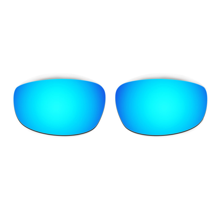 HKUCO Mens Replacement Lenses For Oakley Wind Jacket Red/Blue/Black/24K Gold/Emerald Green Sunglasses BXnEZ