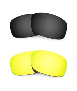 3 pair Hkuco Plus Mens Replacement Lenses For Costa Corbina