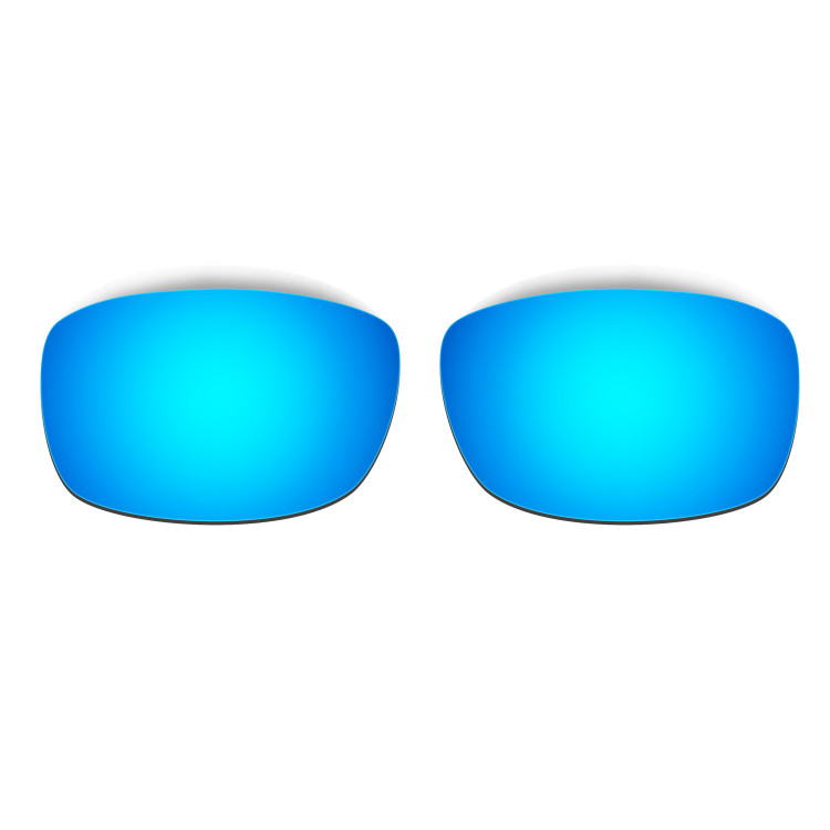 HKUCO Mens Replacement Lenses For Oakley Fives 3.0 Blue/Green Sunglasses NUG3SqhO