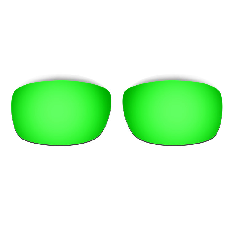 HKUCO Mens Replacement Lenses For Oakley Fives 3.0 Black/Emerald Green Sunglasses tLAif