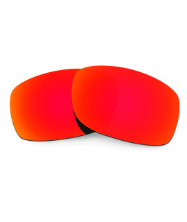 Hkuco Mens Replacement Lenses For Oakley Fives 3.0 Sunglasses Red Polarized
