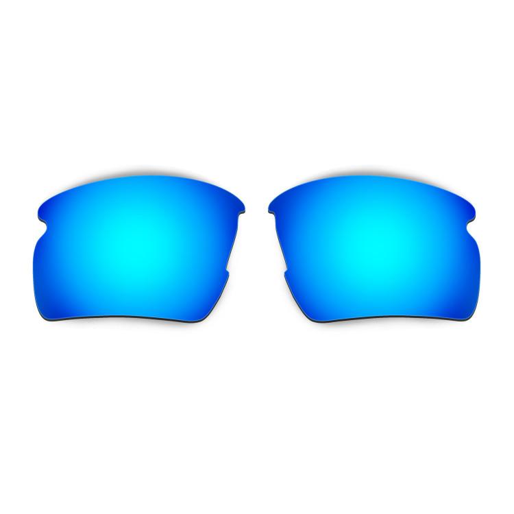 HKUCO Mens Replacement Lenses For Oakley Flak 2.0 Blue/24K Gold Sunglasses kkYczfRk