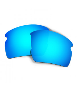 Hkuco Mens Replacement Lenses For Oakley Flak 2.0 Sunglasses Blue Polarized