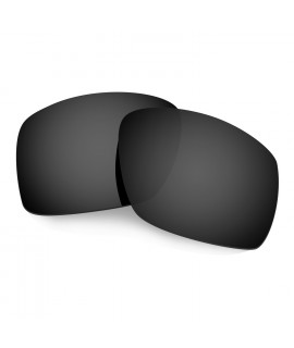 Hkuco Mens Replacement Lenses For Oakley Big Taco Sunglasses Black Polarized
