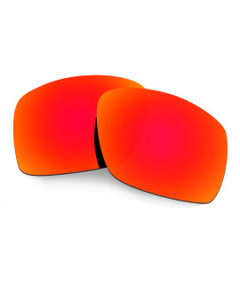 Hkuco Mens Replacement Lenses For Oakley Big Taco Sunglasses Red Polarized