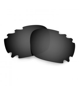 Hkuco Mens Replacement Lenses For Oakley Jawbone (Asian Fit) Vented Sunglasses Black Polarized