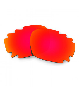 Hkuco Mens Replacement Lenses For Oakley Jawbone (Asian Fit) Vented Sunglasses Red Polarized